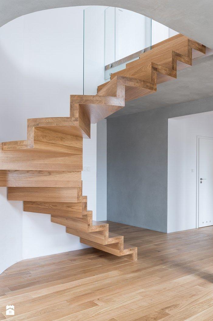 Nowoczesne schody drewniane - zdjęcie od schody-dywanowe.com - Schody - Styl Nowoczesny - schody-dywanowe.com