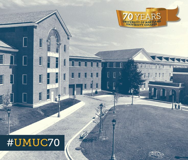 We are proud to celebrate 70 years! This week we're sharing a photo of our Student and Faculty Services Center at our Maryland headquarters. #ThrowbackThursday #umuc70