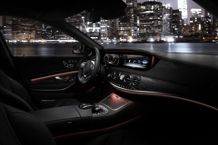 Superior interior. The new S-Class in New York.