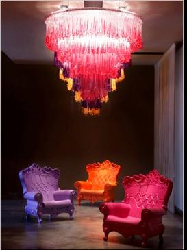 Design of Love  Plastic Louis XV-Style Furniture  #plastic #furniture #modern