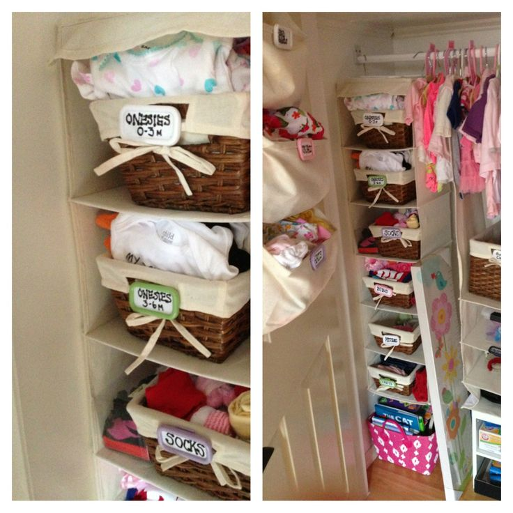 Top 25 ideas about Diy baby closet dividers on Pinterest