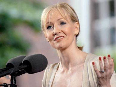 "At her #Harvard commencement speech, ""Harry Potter"" #author JK #Rowling offers some #powerful, heartening #advice to #dreamers and overachievers, including one hard-won #lesson that she deems ""worth more than any qualification I ever earned.""  JK Rowling penned the #bestselling #Harry Potter page-turners - a spellbinding, seven-installment fantasy of wizards, warlocks and decidedly British texture that brought her from #rags to #riches."