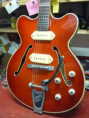 Famous Guitar Paint Schemes