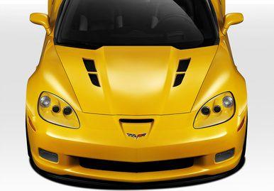 2005-2013 Chevy Corvette GT Concept Duraflex Body Kit- Hood. SKU 109534. For more info give us a call at 714.614.6087, M-F 10AM-5PM (PST) or check out our site expressaerokits.com #corvette #chevycorvette #ChevroletCorvette #Chevrolet #c6 #carbonfiber #EAK #ExpressAeroKIts