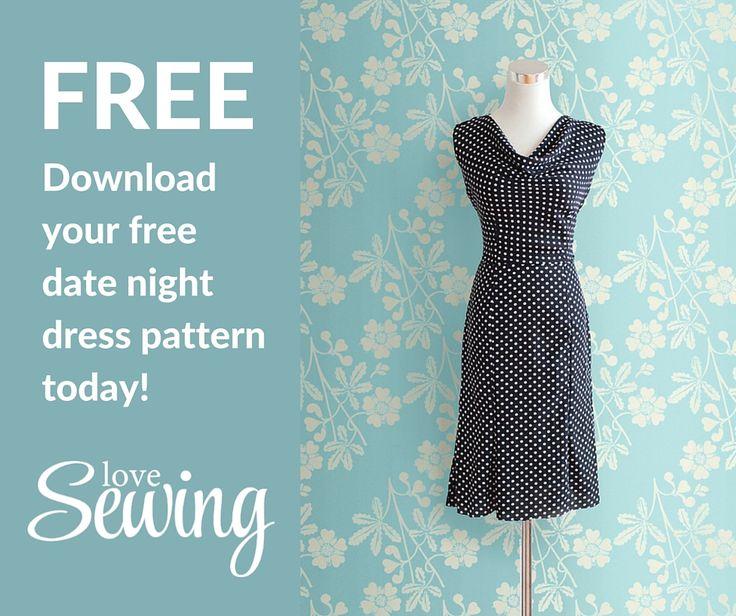 Free Dress Pattern                                                                                                                                                                                 More