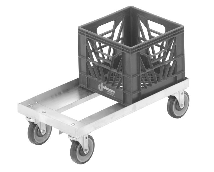 300 lb. Capacity Milk Crate Furniture Dolly