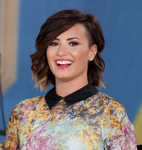 Best Celebrity Hairstyles Images On Pinterest Celebrity - Demi lovato ombre hair