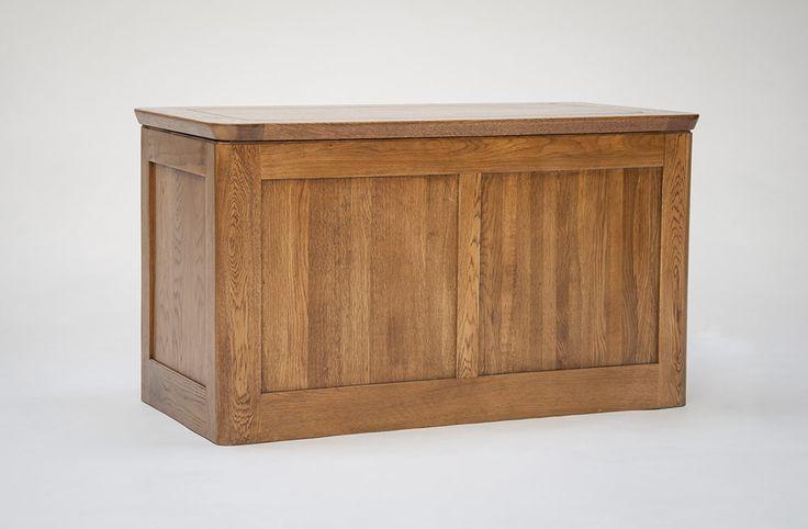 Knightsbridge Oak Blanket Box