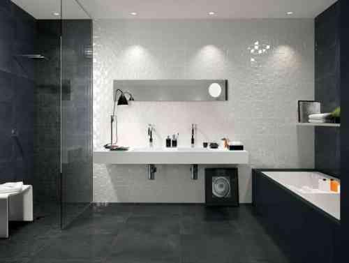 7 best Salle bain images on Pinterest Bathroom, Bathroom ideas and - photo faience salle de bain