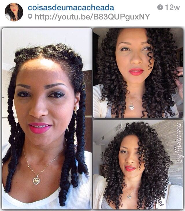 1176 best style box for natural hair images on pinterest natural one of the easiest hairstyles you can do for yourself solutioingenieria Choice Image