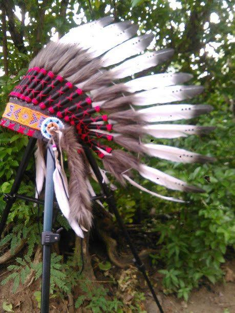 Kids Native American Headdress Native by TheLandOfCockaigne