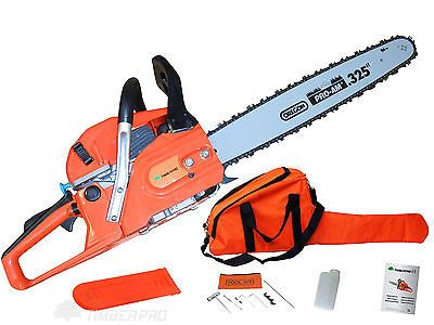 """TIMBERPRO 62cc Petrol Chainsaw with Genuine Oregon Pro-Am 20"""" Bar and Saw Chain"""