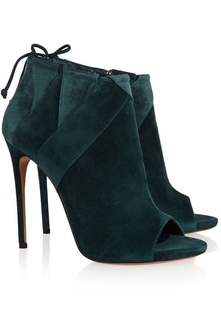 £306 - CASADEI Suede ankle boots