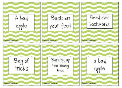 Grab these Idiom cards (free download) as a companion to the StoryLines (free) app!