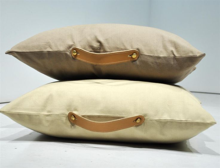 Leather handle cushion