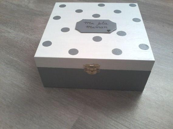 Boîte à bijoux spécial fête des mamans