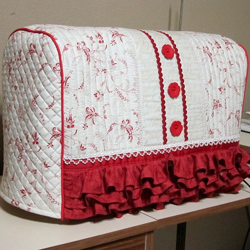 Bernina machine cover tutorial quilting pinterest