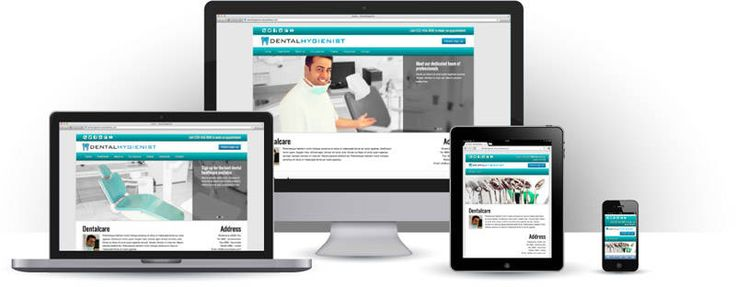 Mondhygiënist Website Maken - Template | Websitessmaken.nl