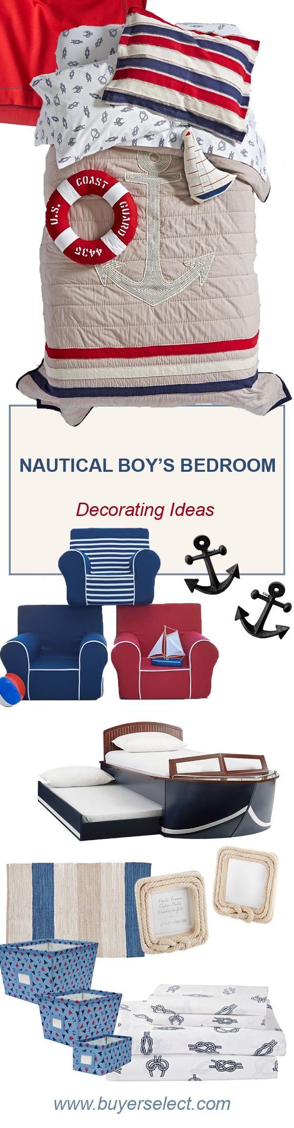 Kid's Nautical Bedroom | Boys Bedroom Ideas | Kid's Rooms