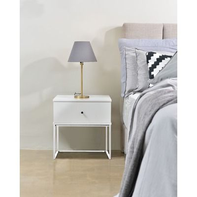 Morena Contemporary Bedside Table by Emma's Design. Get it now or find more Bedside Tables at Temple & Webster.