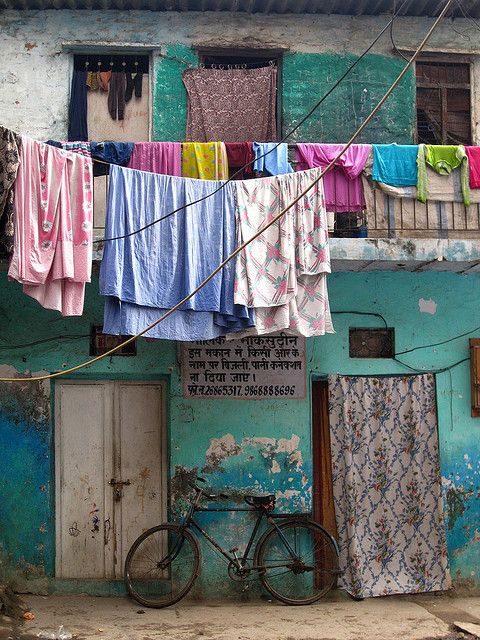 travel-in-india:    Local Colors by Artiii on Flickr.  Via Flickr: Hauz Khas village, New Delhi