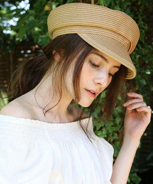 被るだけで上品に女性らしくなるキャスケットの夏コーデ9選