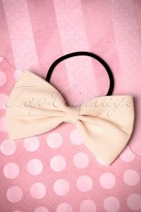 Dancing Days by Banned Bow Hair Band in Cream 208 50 17891 01252016 001aW