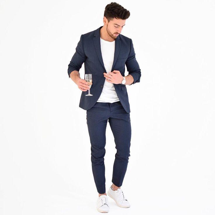 Reglas de estilo y moda que todo hombre debe seguir - Traje Azul