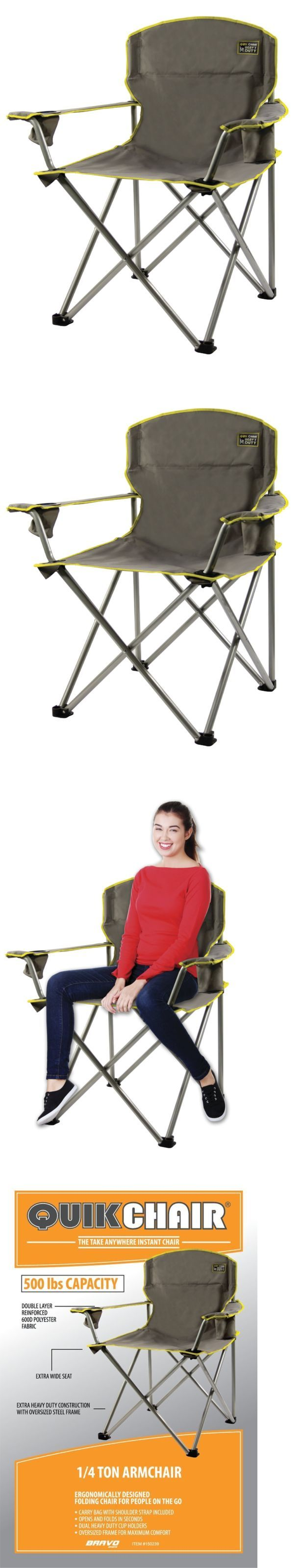 Camping Furniture 16038: Heavy Duty Portable Folding Picnic Chair Beach Camping Outdoor Seat Lawn Patio -> BUY IT NOW ONLY: $30.34 on eBay!