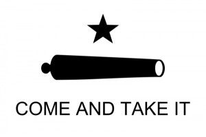 """Come and take it!"" the Texans screamed across the river, the taste of freedom strong in their mouths in Texas History http://www.texansunited.com/blog/come-and-take-it-taunted-the-texans/"