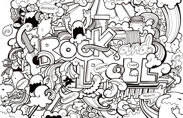 Coloring Page For Older Kids (you Know, The Ones Who Think