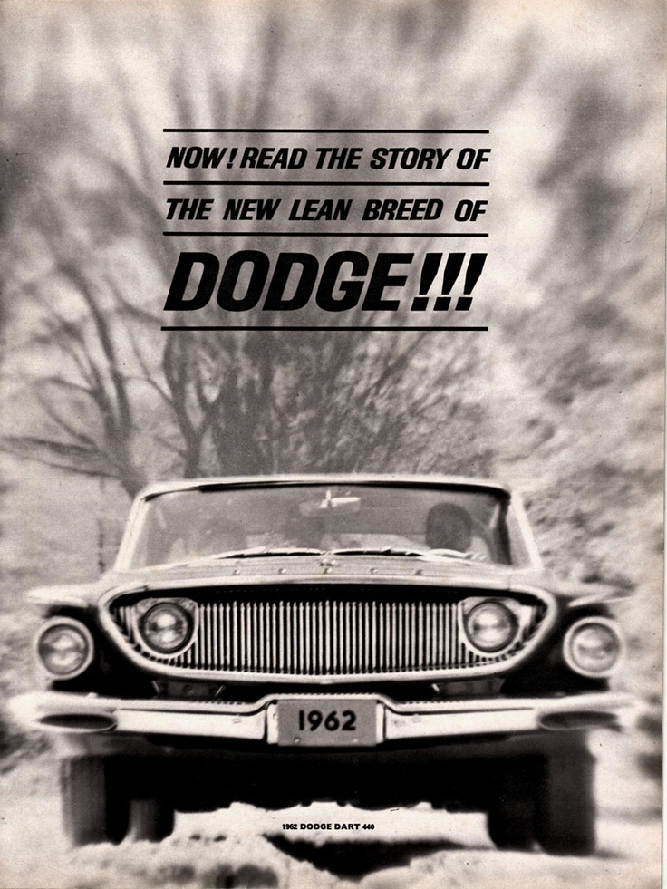 64 best dodge images on pinterest vintage cars autos and classic 1962 dodge dart 440 advertising car and driver magazine november 1961 fandeluxe Gallery