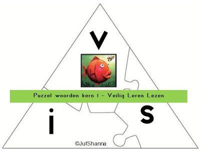Puzzel - woorden kern 1 (VLL)