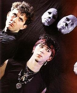 Soft Cell. Marc Almond and David Ball