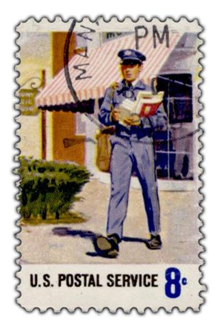 USPS Stamp 8c Commemorative Issue for the U.S. Postal Service