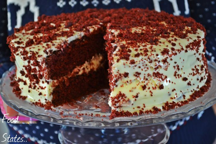 Food States: Τούρτα κόκκινο βελούδο (Red velvet)