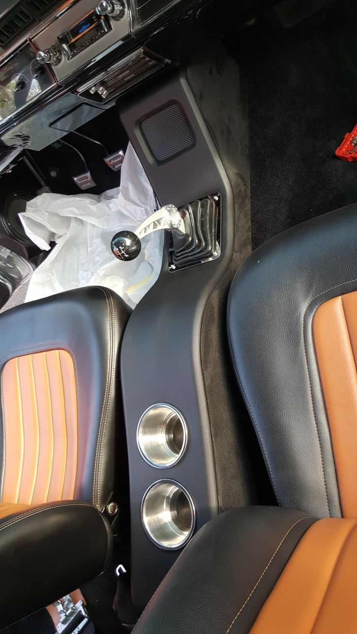 how to make a center console for a truck