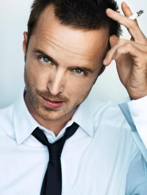 Aaron Paul. A genuine talent. And looks... I'd say they aren't half bad.