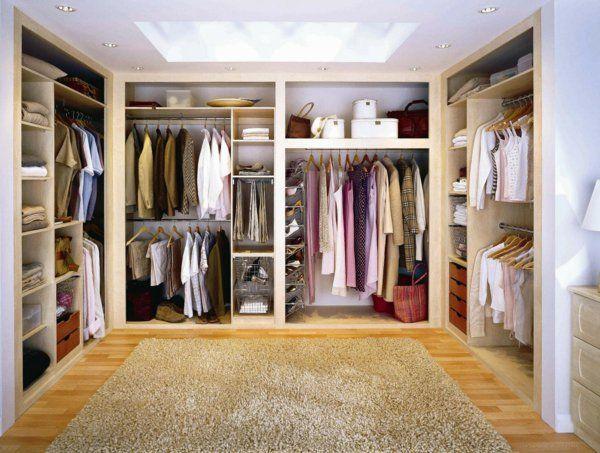 Inspirational Begehbarer Kleiderschrank wie Sie die perfekte Ordnung schaffen