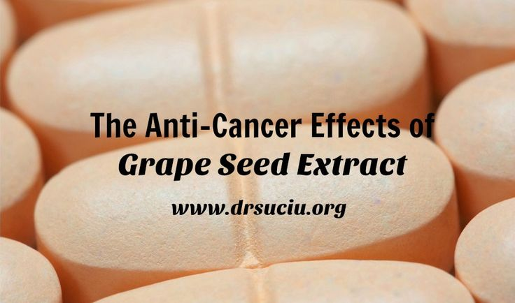 Picture drsuciu The anti-cancer effects of grape seed extract