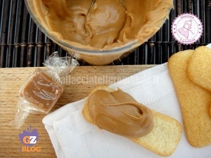 la crema mou veloce è una ricetta facile e velocissima per preparare la crema mou da spalmare sul pane o anche per avere deliziose caramelle!