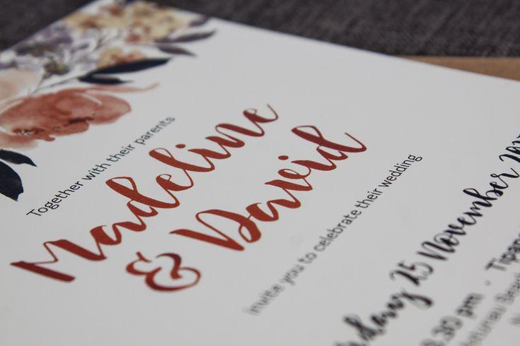 Pretty Peonies Wedding Invitation - Be My Guest