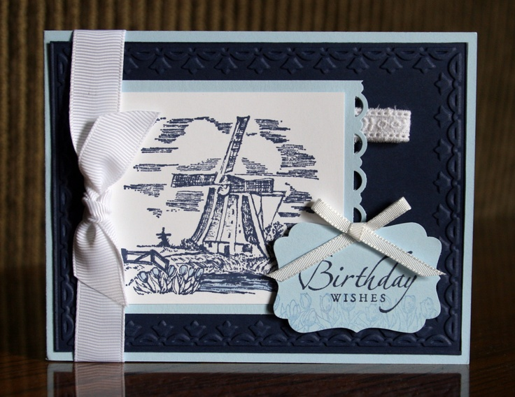Stampin' Up! The Netherlands by Krystal De Leeuw at Krystal's Cards and More