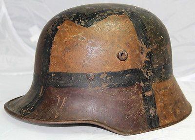 ww1 german helmet camouflage - Google Search