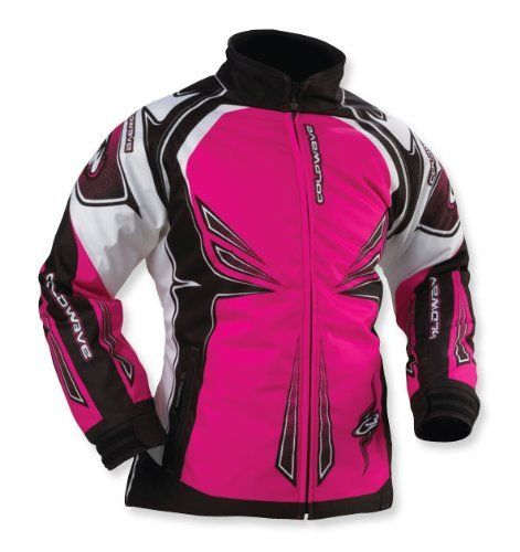 COLDWAVE SNO FIRE WOMENS SNOWMOBILE JACKET PINK MD by Coldwave. Save 3 Off!. $116.85. New to the sport of snowmobiling or looking for entry-level gear that fits your budget? The Trail Collection offers jackets, bibs and pants for men and women that will keep you comfortable and dry. Garment Type Traditional waist-cut jacket Waterproofing Water-resistant PU coating Outershell Materials 600D Cordura Insulation Fixed 280g/m2 Multi-layer Fibrefill insulation Other Details YKK® side...
