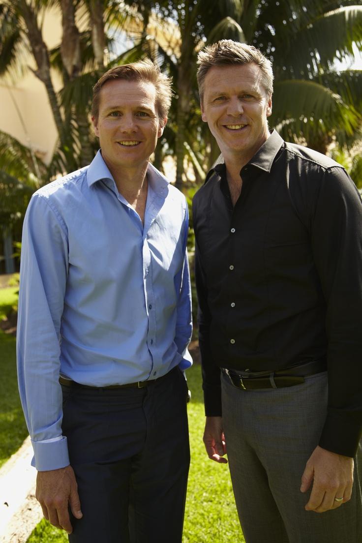 Roger Black and Steve Backley