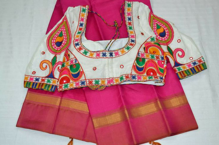 Phulkari blouse