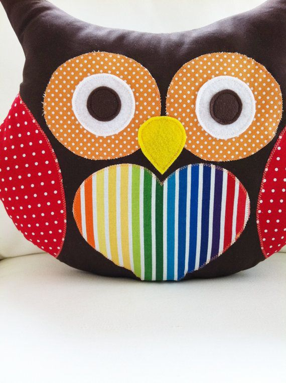 Owl Sewing Pattern Owl Pillow Pattern PDF por GandGPatterns