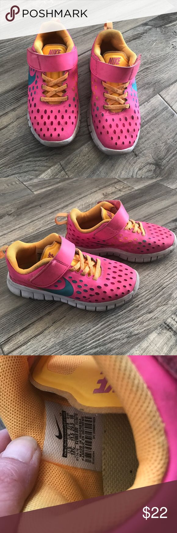 Girls Nike gym shoes Good condition size 12 Nike Shoes Sneakers