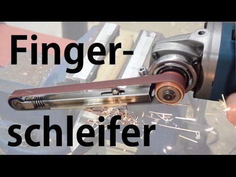 Fingerschleifer bauen | Winkelschleifer Hack | DIY Anleitung Metallprojekt  | kurzes Video - YouTube
